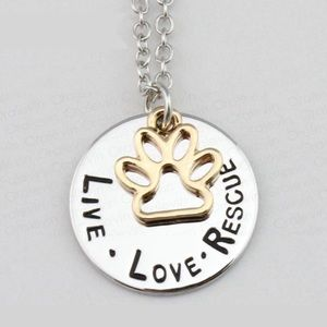 ⭐️COMING SOON⭐️LIVE, LOVE, RESCUE pendant